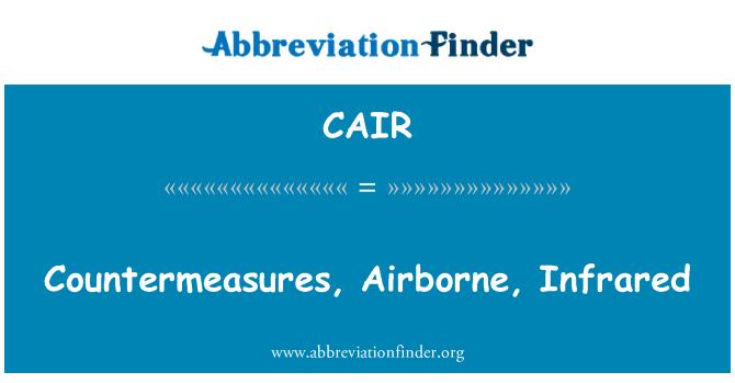 CAIR: Contramedidas, en el aire, infrarrojo