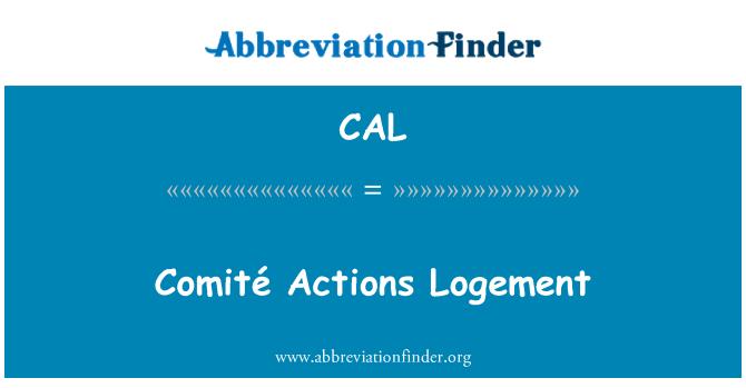 CAL: Comité acciones Logement