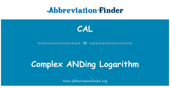 CAL: Logaritmo complejo ANDing