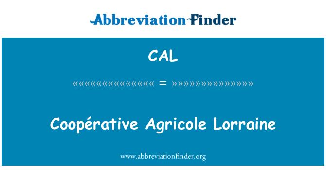 CAL: あたりクレディアグリコル ロレーヌ