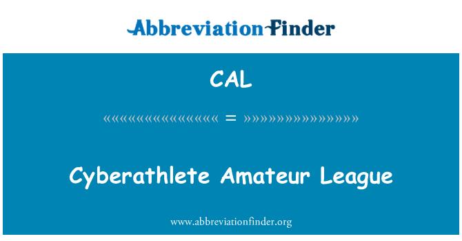 CAL: Cyberathlete Amateur League
