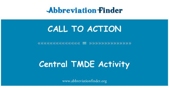 CALL TO ACTION: تمدي وسط نشاط