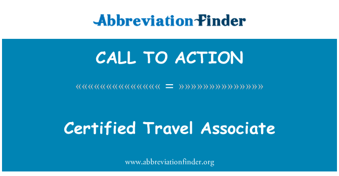 CALL TO ACTION: Sertifikuota kelionių partneris