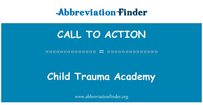 CALL TO ACTION: Vaikui Trauma akademija
