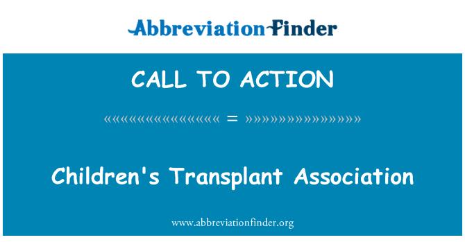 CALL TO ACTION: Gyermek transzplantációs Egyesület