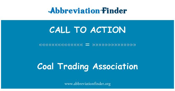 CALL TO ACTION: Szén-kereskedelmi Egyesület
