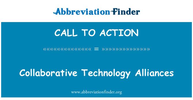 CALL TO ACTION: Alianzas de colaboración de tecnología