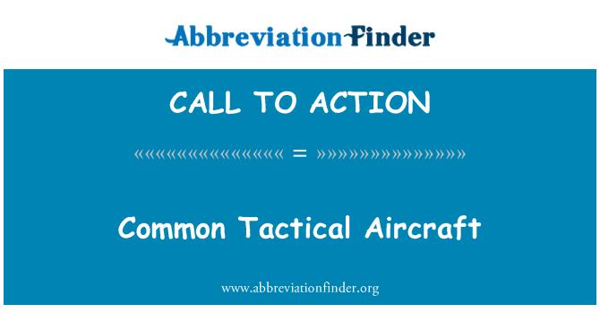 CALL TO ACTION: Bendras Taktinis orlaivių