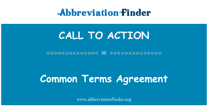 CALL TO ACTION: Gemeinsame Vereinbarung