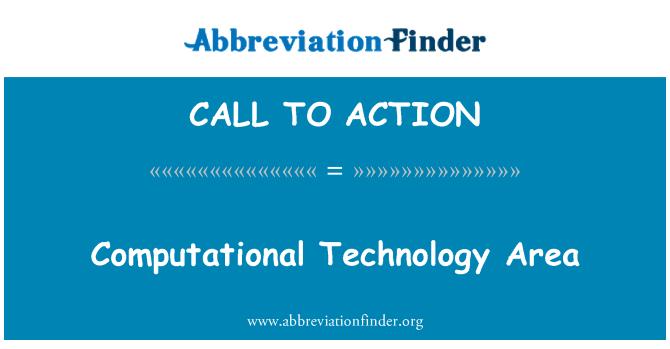 CALL TO ACTION: Obszar technologii obliczeniowych