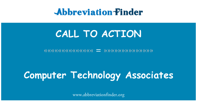 CALL TO ACTION: Компютърни технологии сътрудници