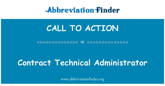 CALL TO ACTION: مدير تقني للعقود