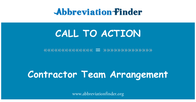 CALL TO ACTION: Entreprenör Team arrangemang