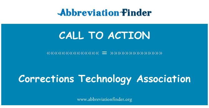 CALL TO ACTION: Asociación de tecnología de correcciones