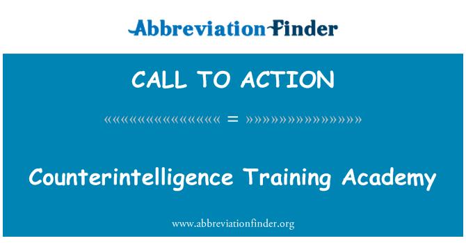 CALL TO ACTION: Kontržvalgybos mokymo akademija