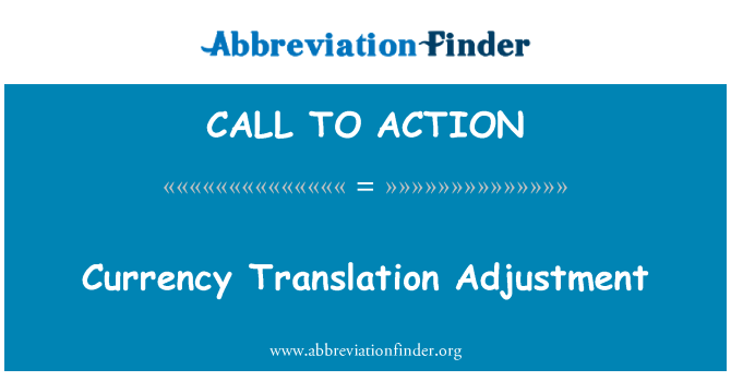 CALL TO ACTION: Valuta översättning justering