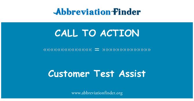 CALL TO ACTION: Cliente prueba Assist