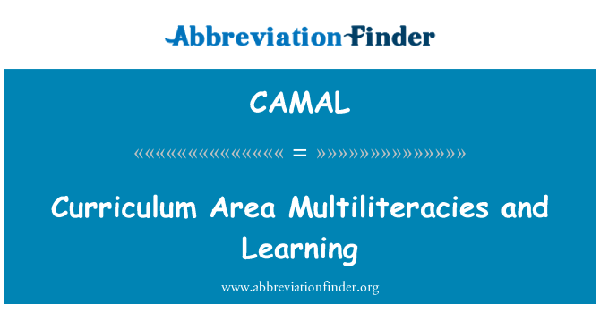 CAMAL: Curriculum Area Multiliteracies and Learning
