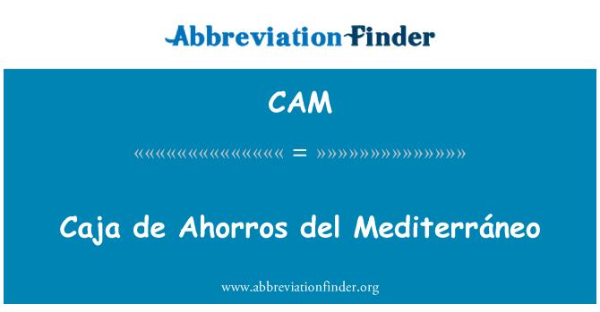 CAM: Caja de Ahorros del Mediterráneo