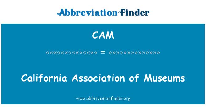 CAM: Asociación de California de los museos