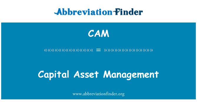 CAM: Capital Asset Management