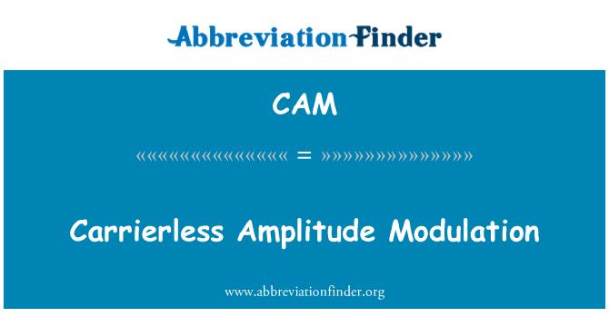 CAM: Modulación de amplitud carrierless