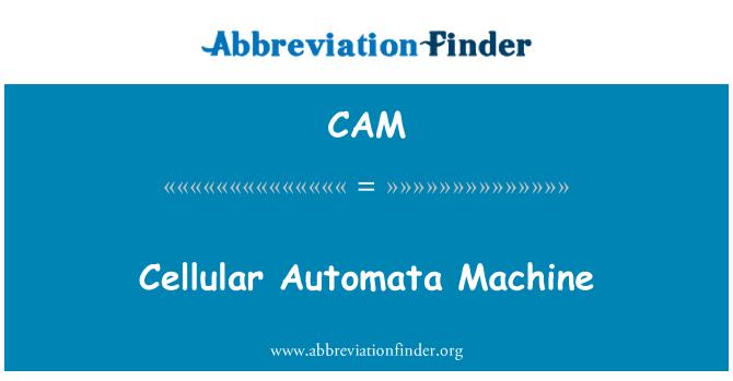CAM: Cellular Automata Machine