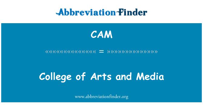 CAM: Universidad de las artes y los medios de comunicación