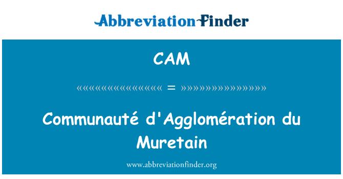 CAM: Communauté d'Agglomération du Muretain