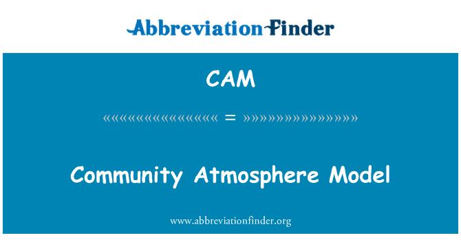 CAM: Community Atmosphere Model