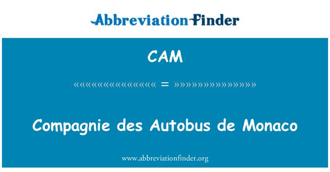 CAM: Compagnie des Autobus de Monaco