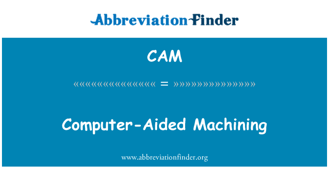 CAM: Computer-Aided Machining