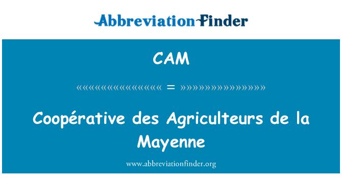 CAM: Coopérative des Agriculteurs de la Mayenne