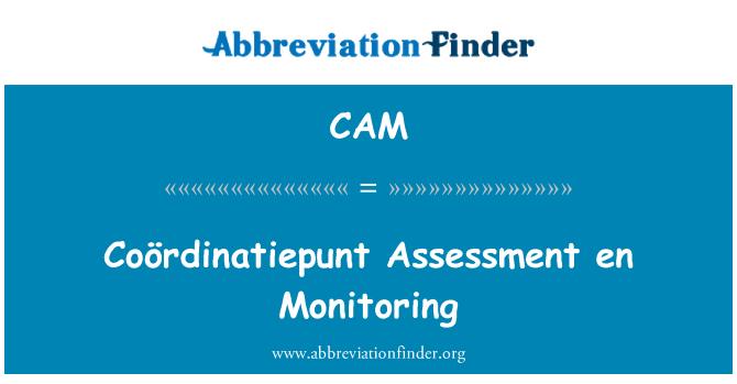 CAM: Đánh giá Coördinatiepunt en giám sát