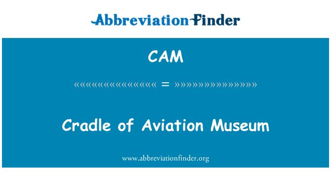 CAM: Cuna del Museo de la aviación