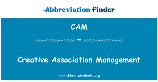 CAM: Administración de la asociación creativa