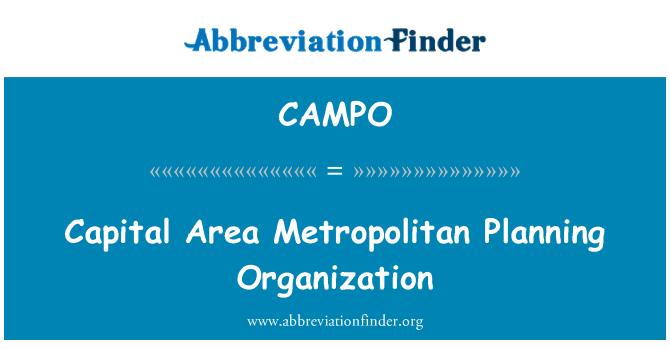 CAMPO: Capital Area Metropolitan Planning Organization