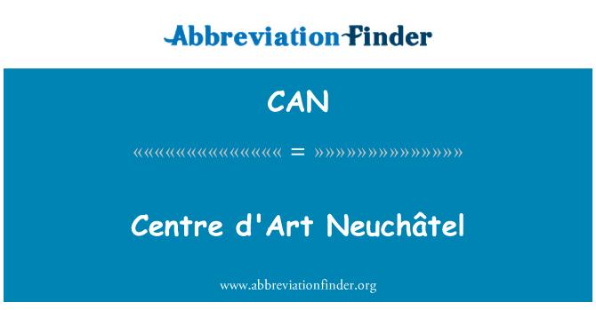 CAN: Centre d'Art Neuchâtel