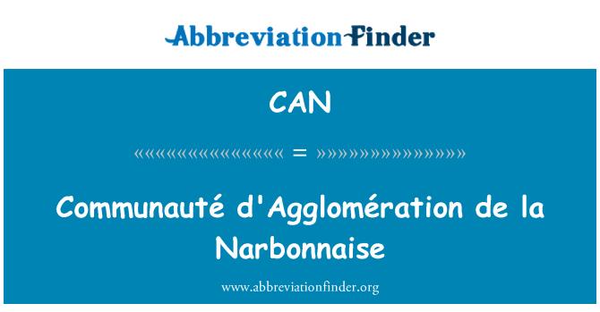 CAN: Communauté d'Agglomération de la Narbonnaise