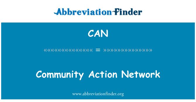 CAN: Red de acción comunitaria