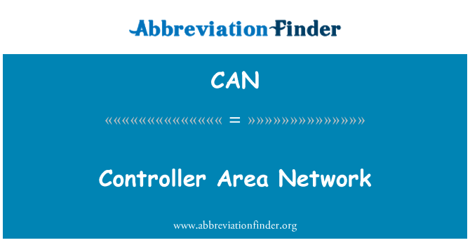 CAN: Controller Area Network