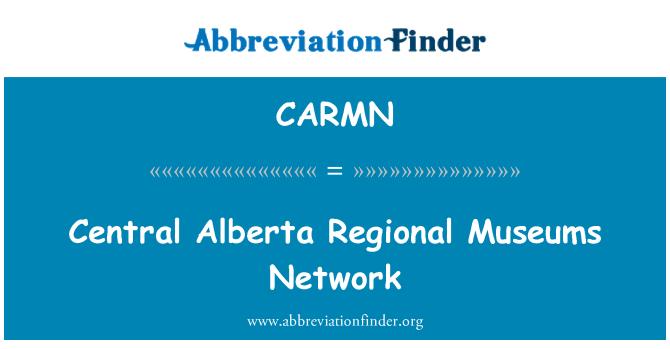 CARMN: Red de museos de Regional de Alberta Central