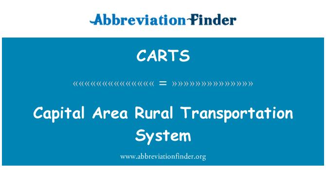 CARTS: Sermaye alan kırsal ulaşım sistemi