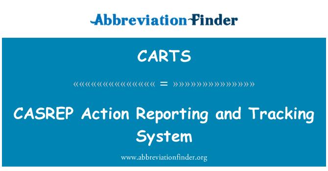 CARTS: CASREP tegevuse aruandluse ja järelevalve süsteem