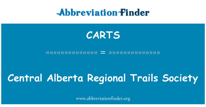 CARTS: Central Alberta bölgesel yollar toplum