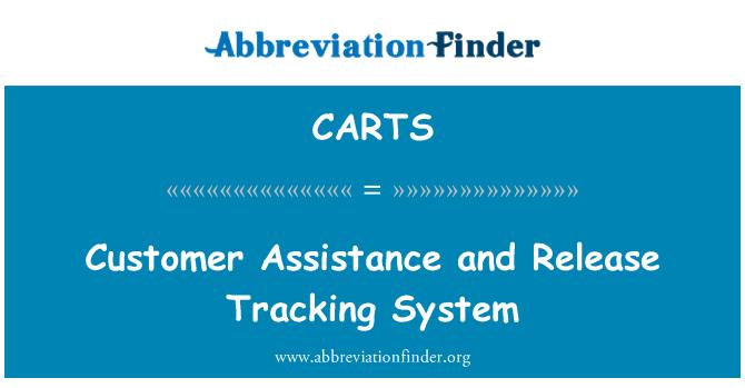CARTS: Yardım almak ve yayın izleme sistemi