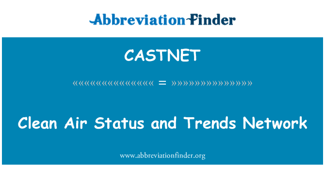 CASTNET: Clean Air Status and Trends Network
