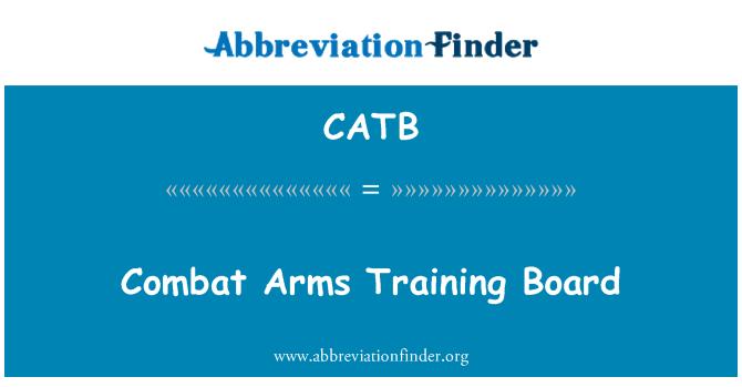 CATB: Combat Arms formación Junta