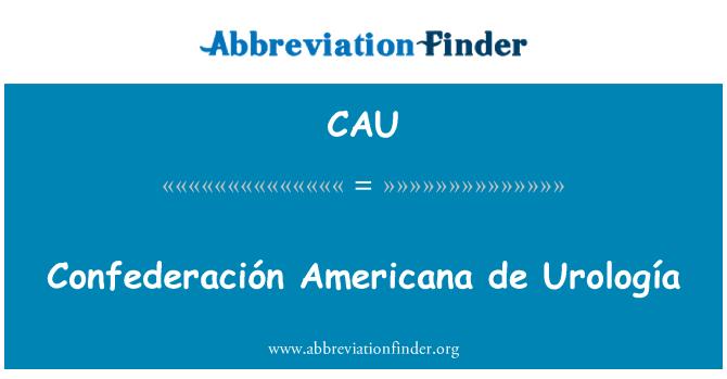 CAU: Confederación Americana de Urología