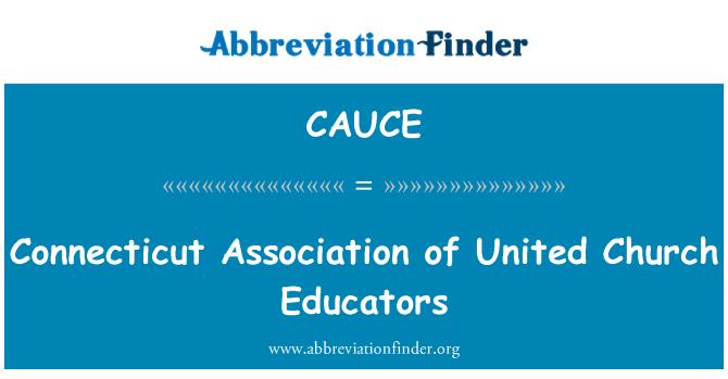 CAUCE: Connecticut Asociación de educadores iglesia Unidos